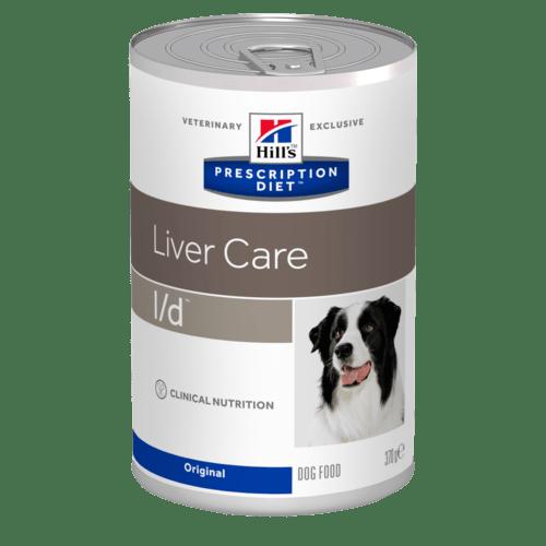 HILL'S Prescription Diet Canine L/D – лечебный влажный корм для собак с заболеваниями печени