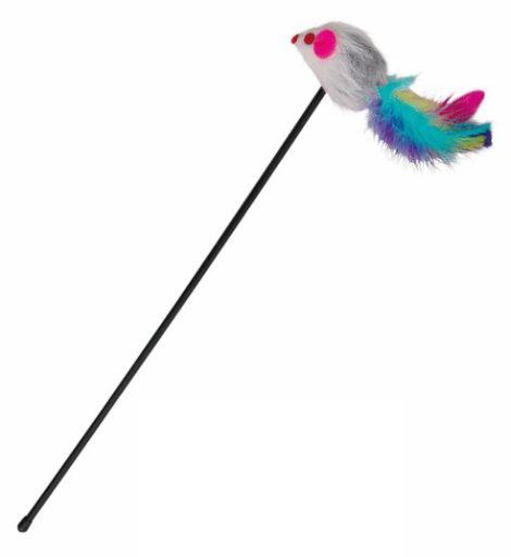 Trixie  іграшка-жарт із мишкою для котів