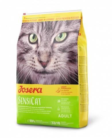 JOSERA SENSICAT – сухой корм для взрослых кошек с чувствительным пищеварением