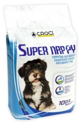 Croci Super Nappy пелюшки для собак, 60×40