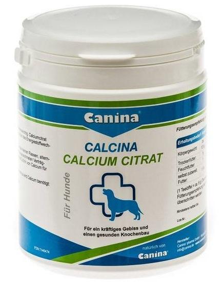 Canina Calcium Citrat – кальциевая добавка для собак