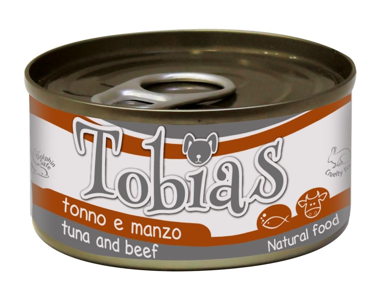Tobias Tuna & Beef – консерви з тунцем і яловичиною для дорослих собак