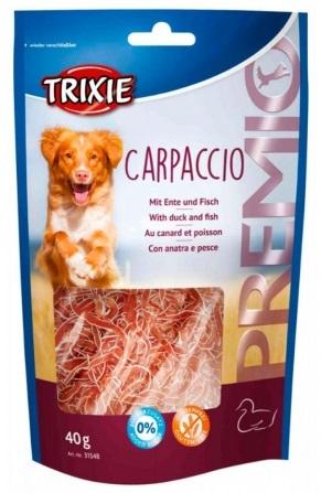 Trixie Premio Carpaccio Duck & Fish – лакомство с мясом утки и рыбой для собак