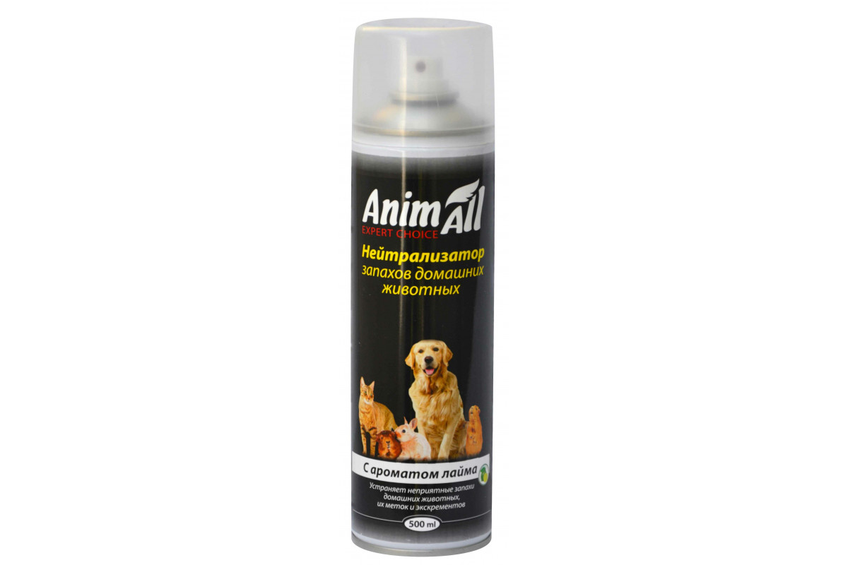 AnimAll – нейтрализатор запаха домашних животных