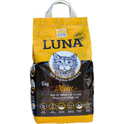 LUNA MIDDLE – середній наповнювач для кошачого туалету