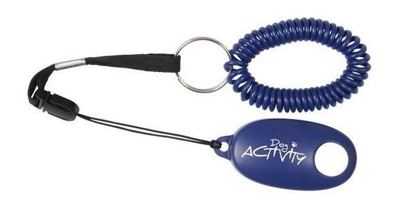 Trixie Soft Clicker – брелок с кнопкой и пружинным браслетом