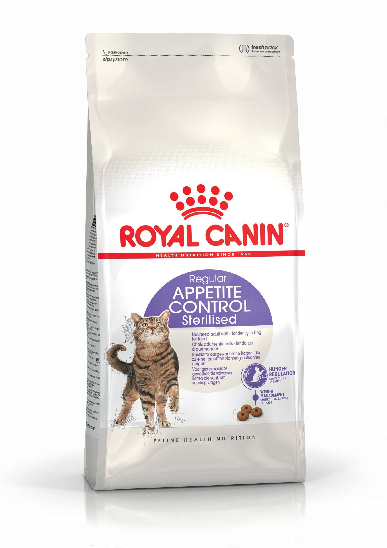 ROYAL CANIN APPETITE CONTROL STERILISED – сухой корм для взрослых стерилизованных котов