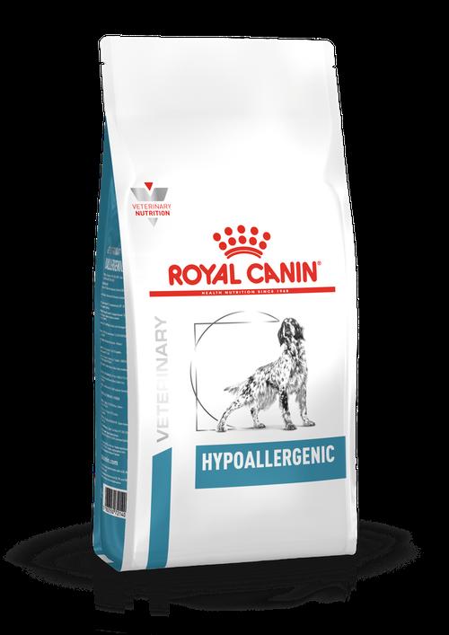 ROYAL CANIN HYPOALLERGENIC лечебный сухой корм для собак с пищевой аллергией