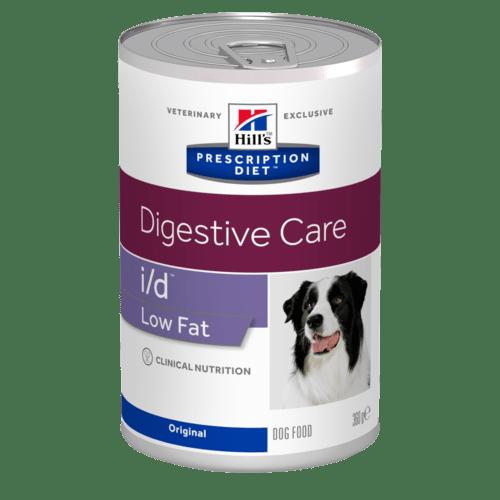 HILL'S Prescription Diet Canine I/D Low Fat – лечебный влажный корм для взрослых собак c расстройствами пищеварения