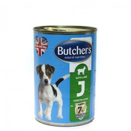 Butcher's Basic Junior – консерва з ягням для молодих собак