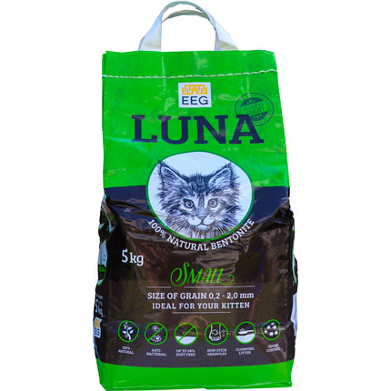 LUNA SMALL Мелкий наполнитель для кошачьих туалетов