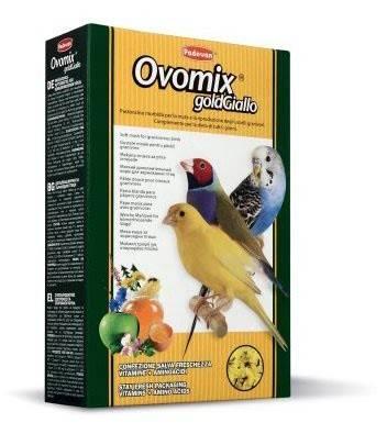 Padovan Ovomix Gold Giallo – дополнительный корм для птиц