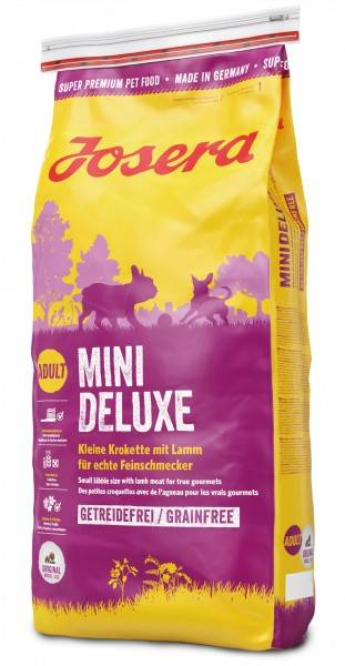 JOSERA MINIDELUXE – сухой корм для взрослых собак малых пород