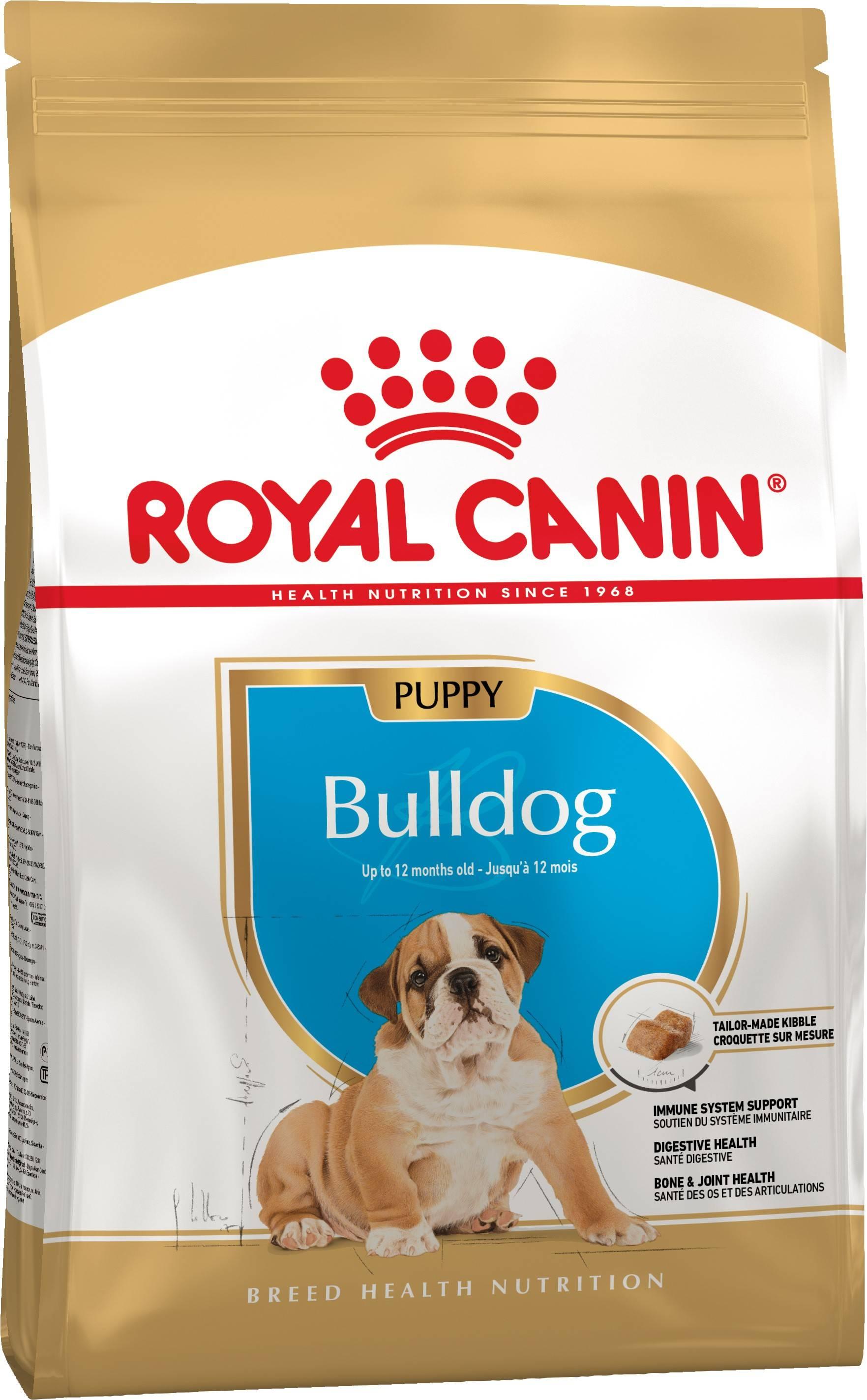 ROYAL CANIN BULLDOG PUPPY – сухой корм для щенков породы бульдог