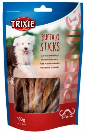Trixie Premio Buffalo Sticks – ласощі з м'ясом буйвола для собак