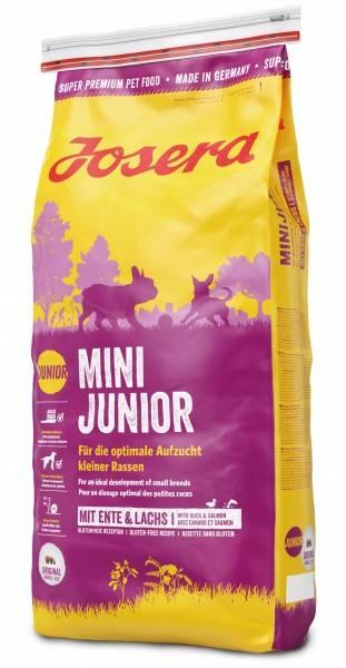JOSERA MiniJunior – сухой корм для щенков малых пород