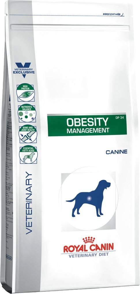 ROYAL CANIN OBESITY CANINE лечебный сухой корм для собак с ожирением