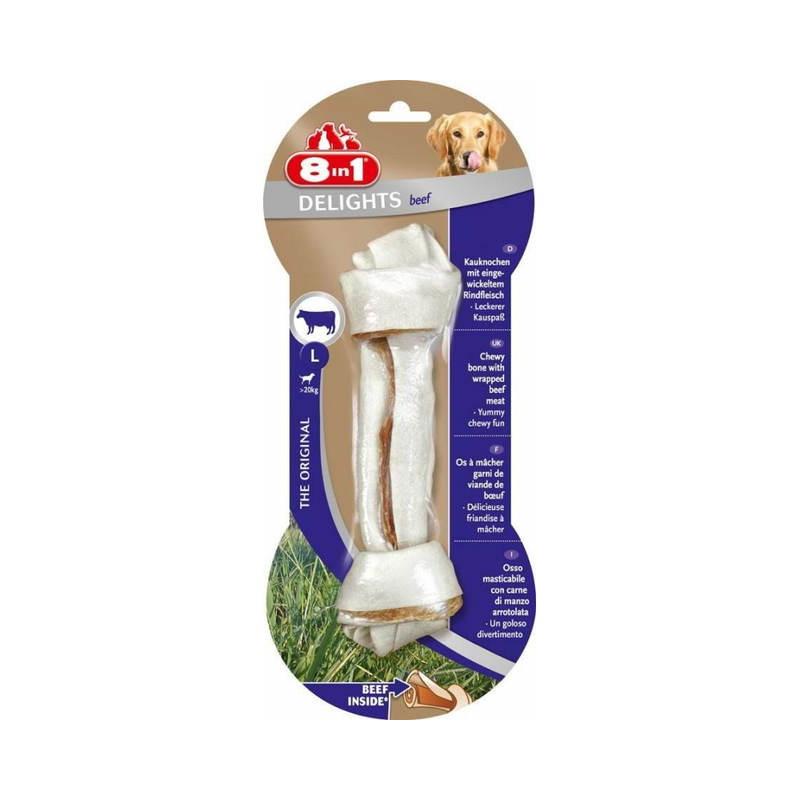 8in1 Triple Flavour – пресована кістка з вузлами