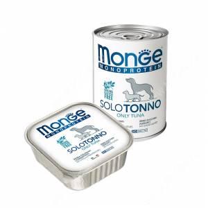 Monge Solo Polo консервы с тунцом для собак