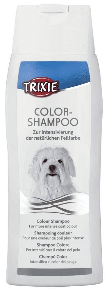 Trixie шампунь для собак с белой шерстью