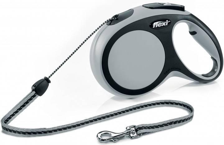 Flexi New Comfort M поводок-рулетка для собак до 20 кг, трос
