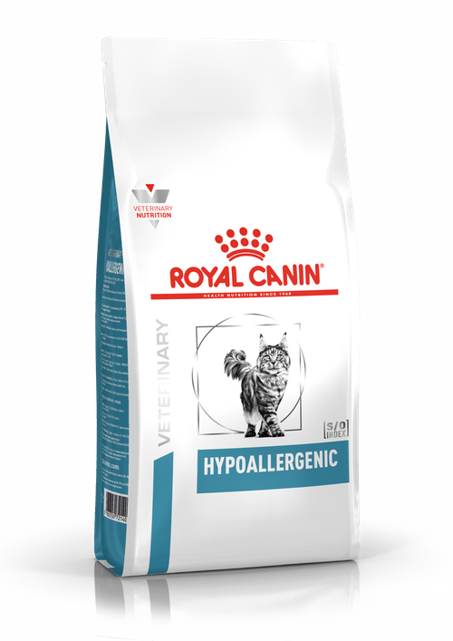ROYAL CANIN HYPOALLERGENIC FELINE – гіпоалергенний лікувальний сухий корм для дорослих котів при харчовій алергії