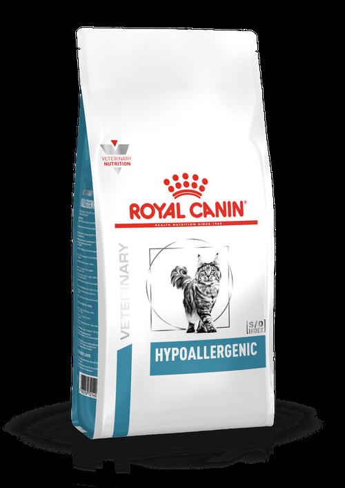 ROYAL CANIN HYPOALLERGENIC FELINE – гипоаллергенный лечебный сухой корм для взрослых котов при пищевой аллергии