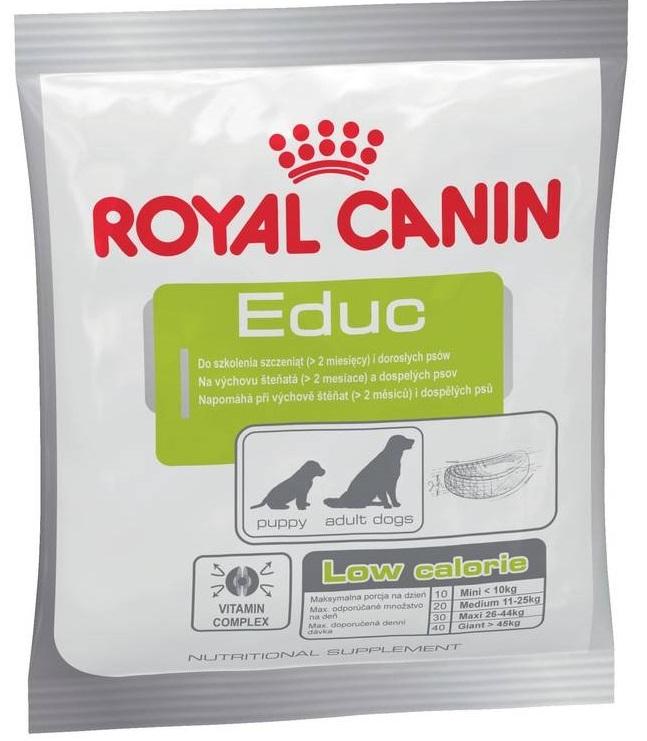ROYAL CANIN EDUC CANIN – ласощі для навчання і дресирування цуценят і дорослих собак