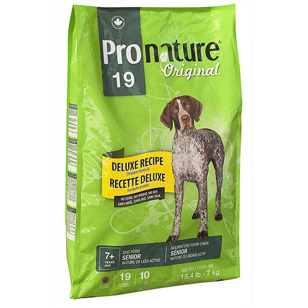 PRONATURE ORIGINAL DELUXE SENIOR – сухий корм для літніх собак всіх порід, без пшениці, кукурудзи, сої