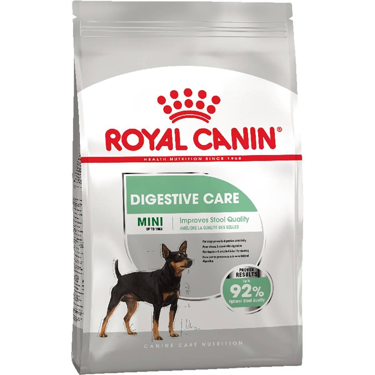 ROYAL CANIN MINI DIGESTIVE CARE – сухой корм для собак мелких пород с чувствительным пищеварением