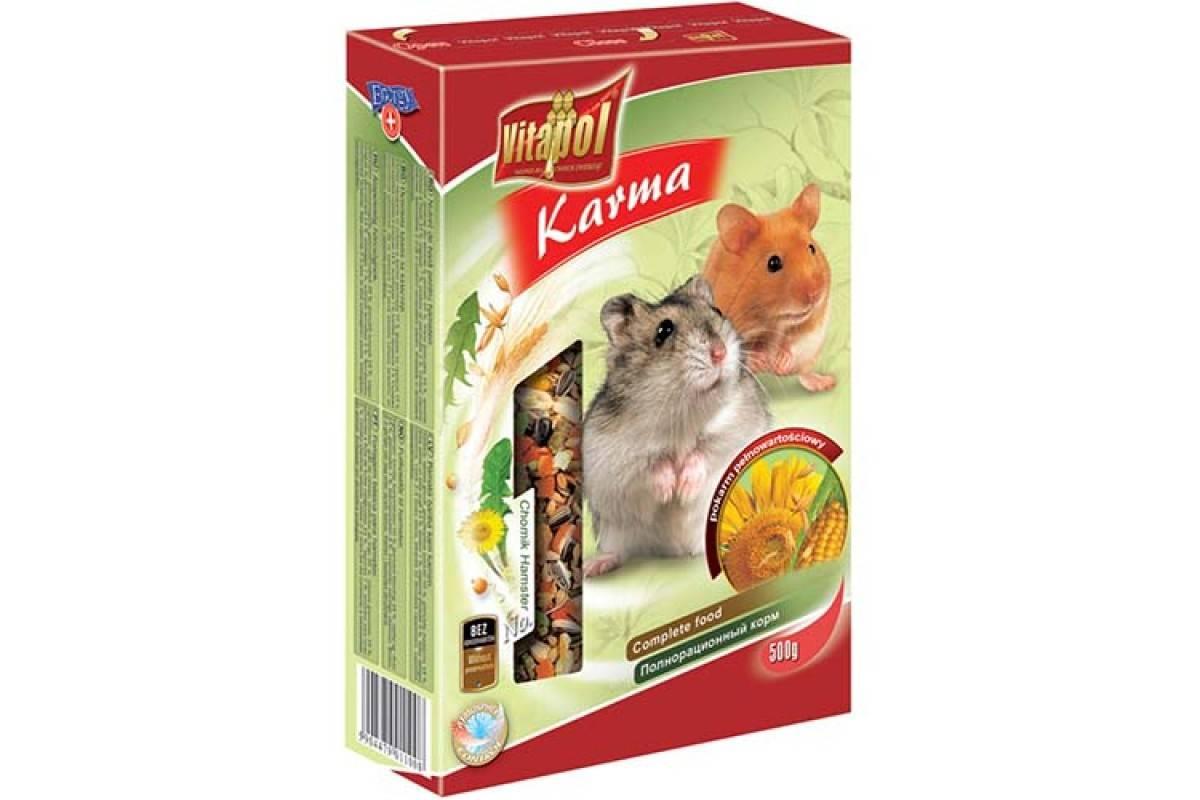 Vitapol Karma полнорационный корм для хомяков