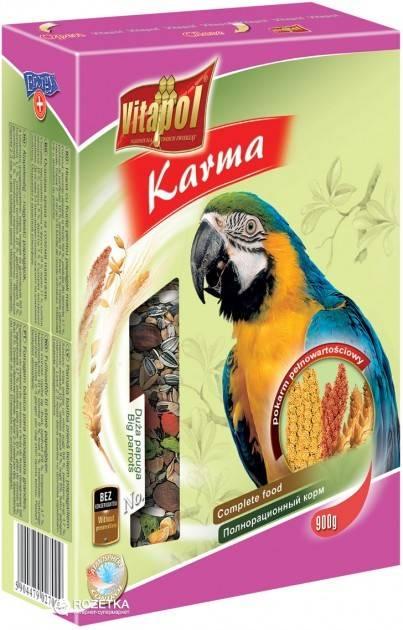 Vitapol корм для великих папуг