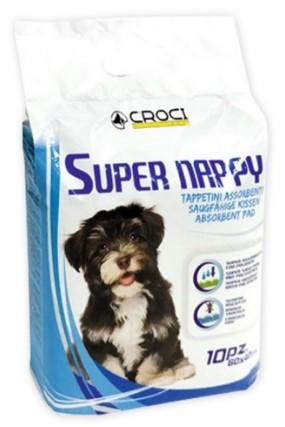 Croci Super Nappy – пеленки для собак, 60×60