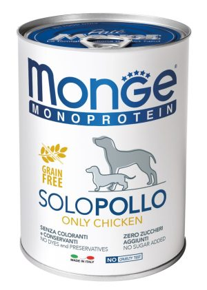 Monge Solo Polo консерви з куркою для собак