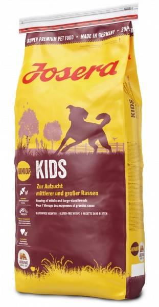JOSERA KIDS – сухой корм для щенков средних и крупных пород