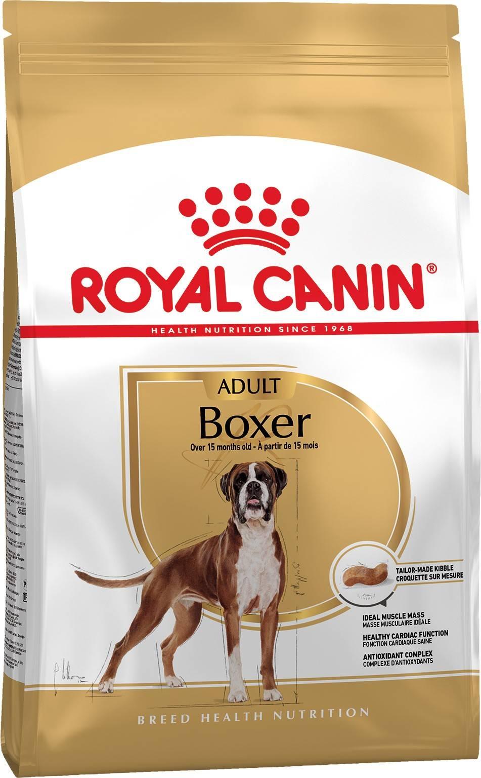 ROYAL CANIN BOXER ADULT – сухой корм для взрослых собак породы боксер