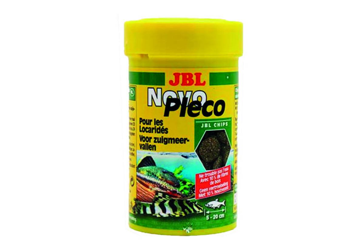 JBL NovoPleco – основний корм для невеликих і середніх кольчужних сомів