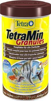 Tetra Min Granules – корм для аквариумных рыб в гранулах