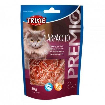 Trixie Premio Carpaccio – ласощі для котів із качкою і робою