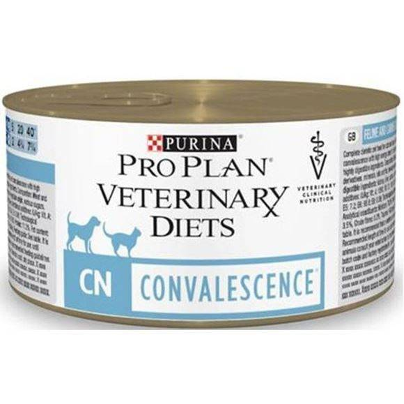 PRO PLAN VETERINARY DIETS CN CONVALESCENCE – лікувальний консервований корм для дорослих котів у період одужання