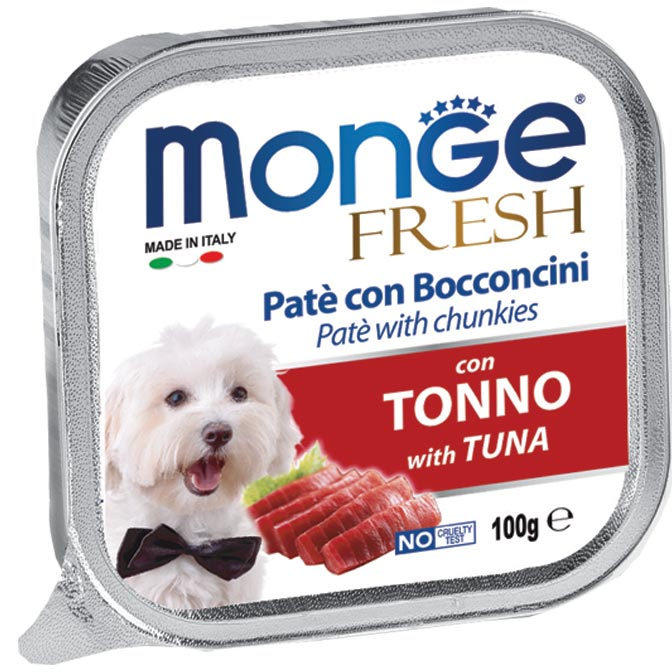 Monge Fresh Tuna – консерви з тунцем для собак
