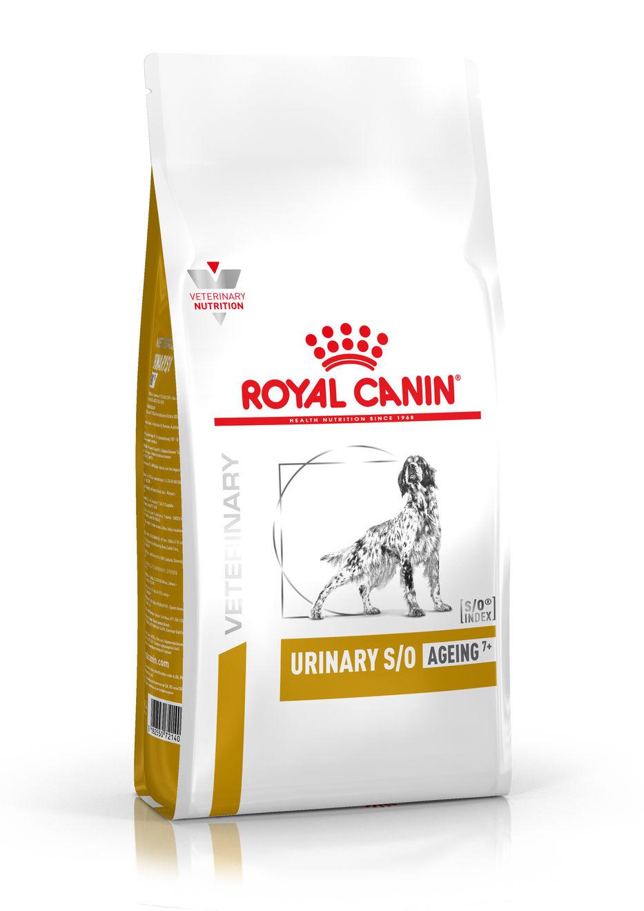 ROYAL CANIN URINARY S/OAGEING 7+ – лечебный сухой корм для собак старше 7 лет при мочекаменной болезни