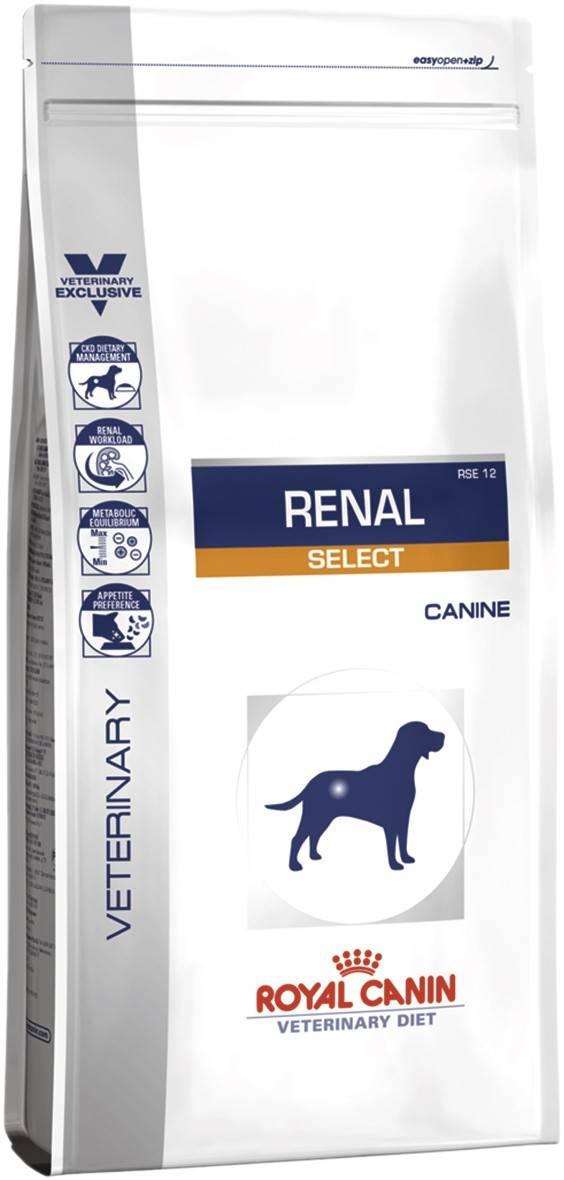 ROYAL CANIN RENAL SELECT CANINE – лечебный сухой корм для собак с почечной недостаточностью
