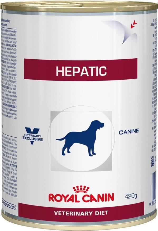 ROYAL CANIN HEPATIC CANINE – лікувальний вологий корм для собак при захворюваннях печінки