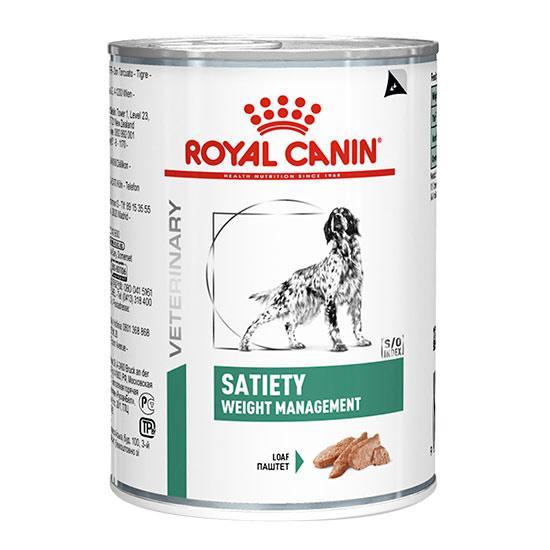 ROYAL CANIN SATIETY WEIGHT MANAGEMENT лечебный влажный корм для собак для контроля избыточного веса
