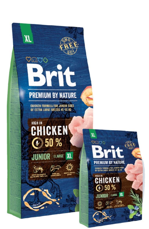 BRIT PREMIUM JUNIOR XL – сухой корм для щенков гигантских пород