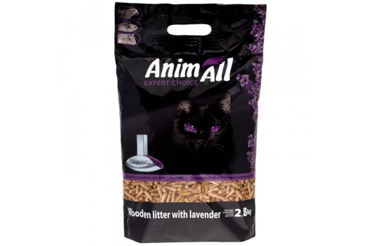 AnimAll деревний наповнювач з ароматом лаванди