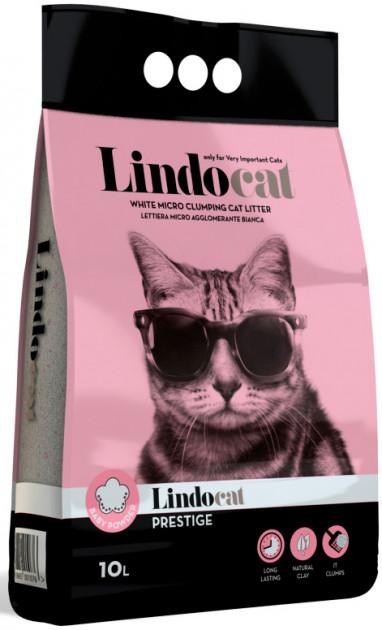 Lindocat Prestige – бентонітовий наповнювач туалетів для кішокм
