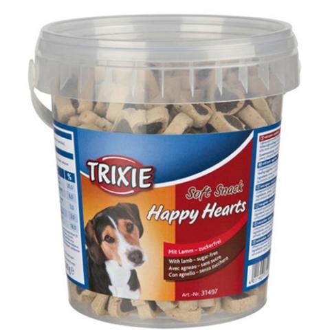 Trixie Trainer Snack Happy Hearts – лакомства с ягненком собак