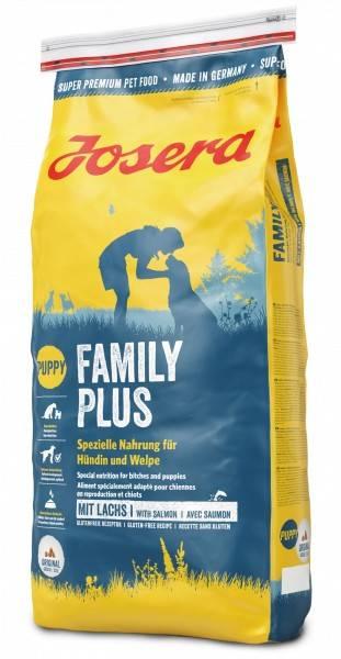 JOSERA FAMILY PLUS – сухой корм для беременных и кормящих собак и для щенков всех пород